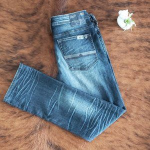 NWT Buffalo Driven-X Straight Distressed Jeans